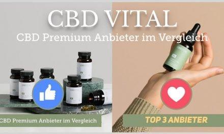 CBD VITAL Firmenprofil: Einer unserer TOP3 CBD Anbieter