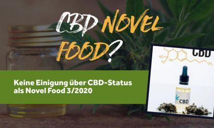CBD Novel Food…oder doch Nicht? Status März 2020