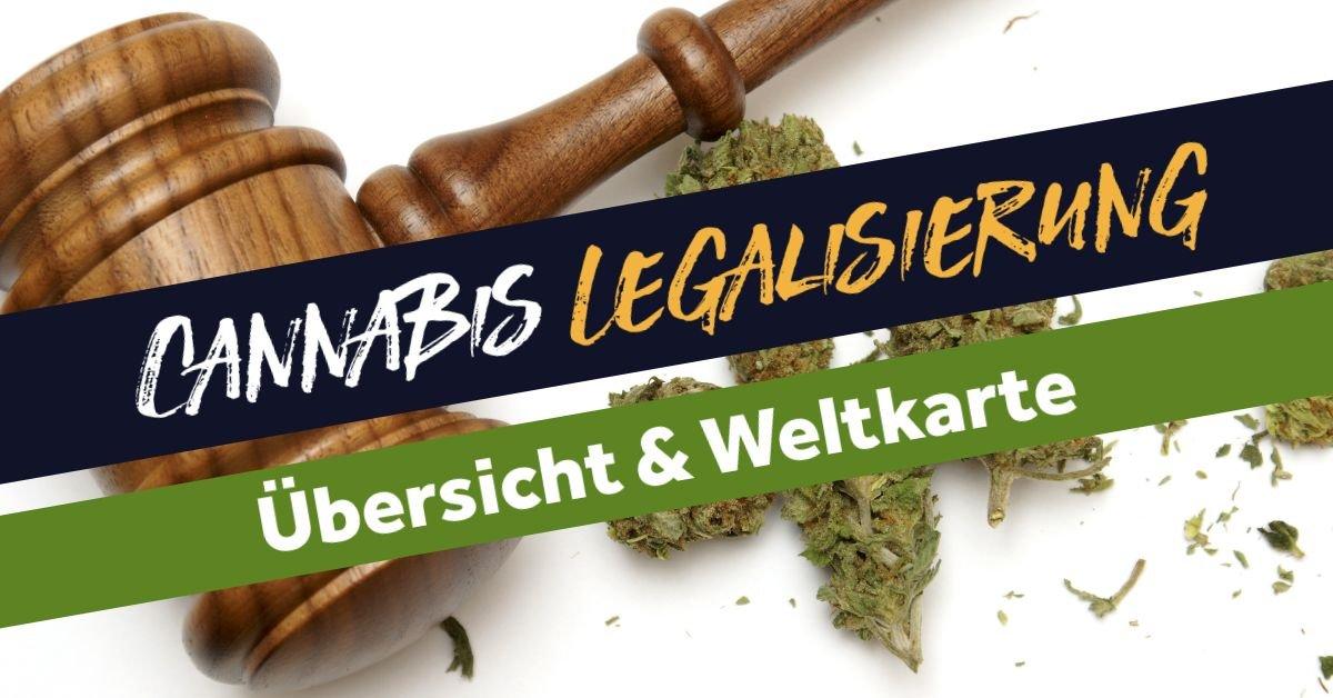 Wo Ist Cannabiskonsum Legal 2021