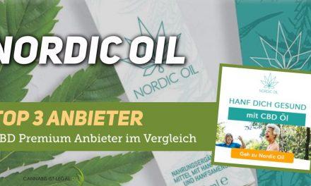 Nordic Oil Firmenprofil: Einer unserer TOP3 CBD Anbieter