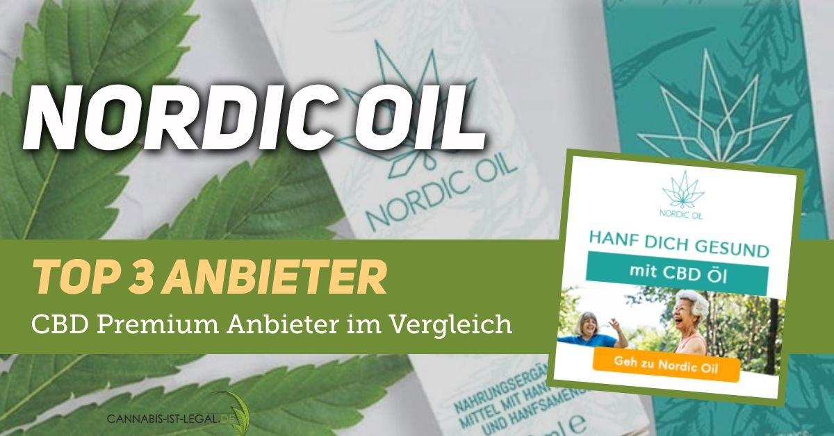 Nordic-Oil CBD Hersteller im Test bei CANNABIS-IST-LEGAL.DE