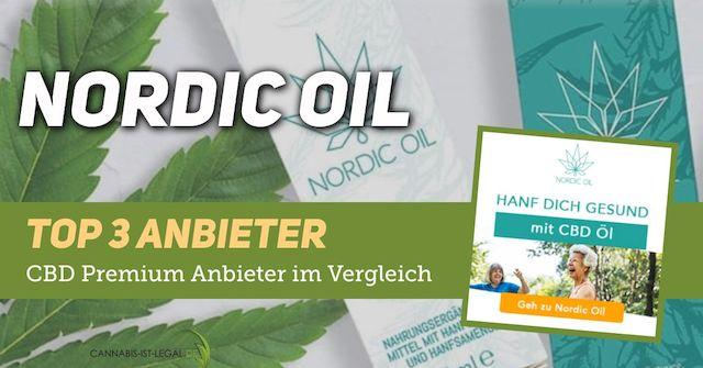 NORDIC OIL TOP3 Anbieter Logo