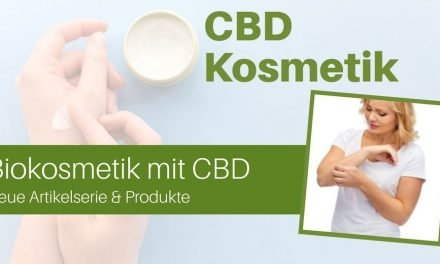 Artikelserie über Bio-Kosmetik mit CBD