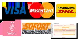 Zahlungsmöglichkeiten CBDWelt.de Shop
