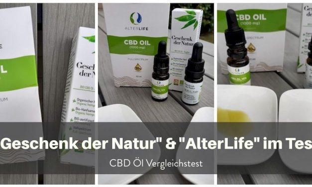CBD-Öl-Test: Geschenk der Natur & Alterlife von BIOCBD