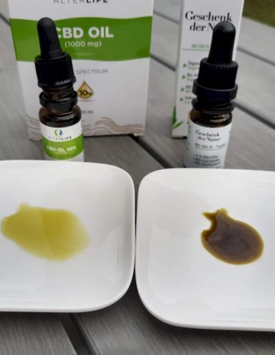 CBD-Öl-Test: Geschenk der Natur & Alterlife von BIOCBD 1