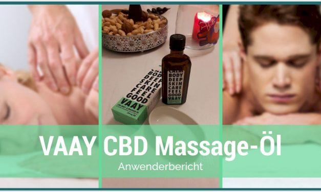 Ein Anwenderbericht für  das VAAY CBD Massage-öl